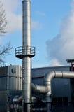热电厂详细资料 免版税库存图片