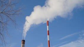 热电厂,锅炉房 免版税图库摄影