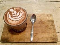 热的上等咖啡 可口饮料 免版税库存照片