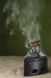 热的减速火箭的铁 库存图片