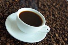 热的咖啡杯 图库摄影