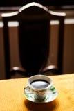 热的咖啡杯 免版税库存图片