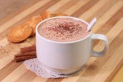 热的咖啡饮料 免版税库存图片