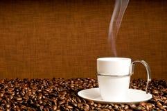热的咖啡 免版税库存图片