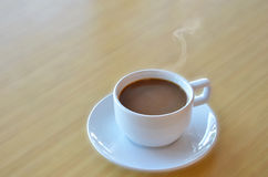 热的咖啡 图库摄影