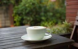 热的咖啡 免版税库存照片