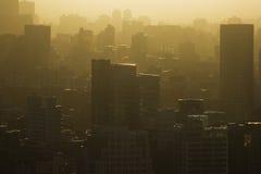 热的城市 免版税库存图片