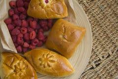 热的小圆面包 免版税库存照片