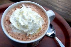 热的巧克力 图库摄影