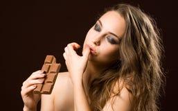 热的巧克力 库存照片
