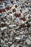 热的木炭 免版税库存图片