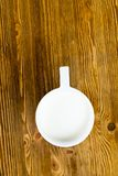 热的杯子牛奶 免版税库存照片