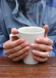 热的杯子 免版税库存图片