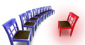 热的椅子 免版税图库摄影