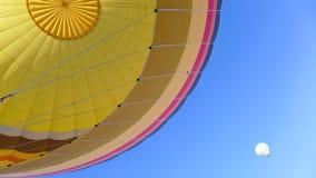 热的气球乐趣乘驾 免版税库存照片