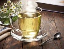 热的清凉茶杯 免版税图库摄影