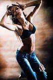 热的舞蹈 免版税库存照片