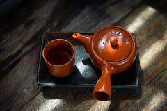 热的茶壶 图库摄影