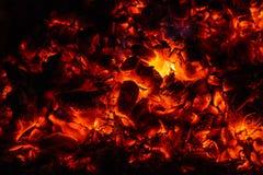 热的采煤 图库摄影