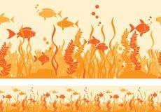 热的鱼 向量例证