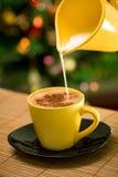 热的coffe 免版税库存照片