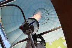 热空气气球燃烧器 库存图片