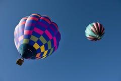 热空气气球。 图库摄影