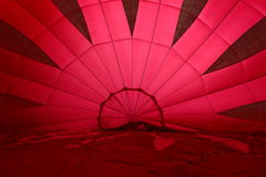 热空气气球布城 库存图片