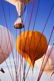 热空气气球皮带 库存图片