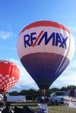 热空气气球节日,沃特福德, WI 2016年7月15日 免版税库存图片