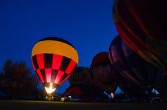 热空气气球节日2016年 库存图片