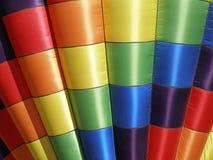 热空气气球颜色 库存照片