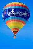 热空气气球/节日大别墅D'Oex 2014年 免版税库存图片