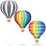 热空气气球 免版税库存图片