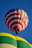 热空气气球 库存照片