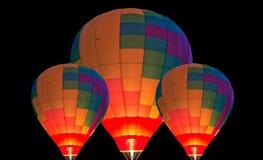 热空气baloons 免版税图库摄影
