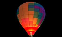 热空气baloons 库存照片