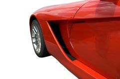 热红色速度 库存照片