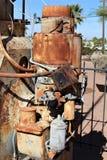 热罗姆亚利桑那采矿博物馆 库存照片