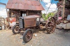 热罗姆拖拉机 免版税库存照片