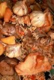 热肉饭 免版税库存图片