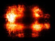 热背景的grunge 免版税图库摄影