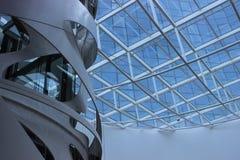 热舒夫,波兰-购物中心的现代内部 免版税库存照片