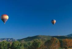 热航空的baloon 库存照片