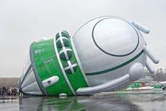 热航空的baloon 库存图片