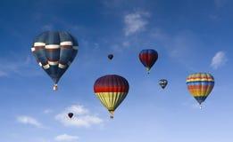 热航空的baloon 免版税库存照片