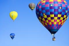 热航空的baloons 免版税库存图片