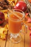 热苹果汁 免版税库存照片