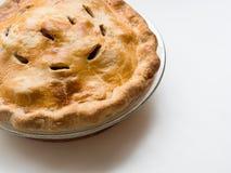 热苹果饼 免版税库存图片