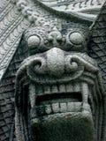 热衷石中国狮子 免版税库存照片